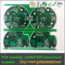 Pcb adulto del juego del fabricante del PWB del control industrial de alta calidad de la capa 4