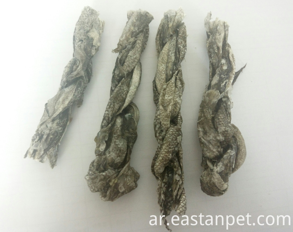 air-dry codfish skin twist for dog