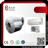 Color precoated metal sheet for air conditioner