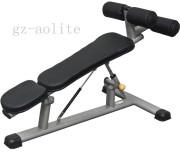 Gym Equipment Black Adjustable Abdominal Trainer Alt-6635b