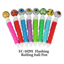 Flashing Rolling Ball Pen Toy