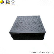 En124 D400 700X700mm Heavy Duty Ductile Iron Square Manhole Cover