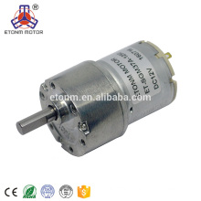 High Torque Geared High Quality Dc Geared Motor With 12v For smart Robots