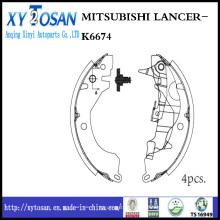 Auto sapato de freio para Mitsubishi Lancer K6674