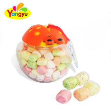 Wholesale Bee Jar Packing Sweet Sugar Coated Crispy Marshmallow Candy