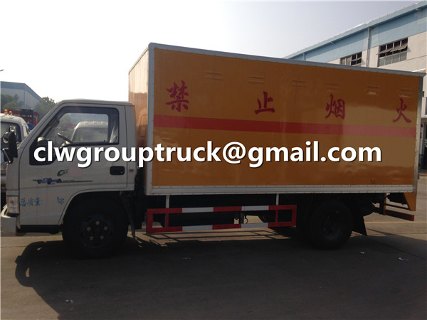 Blasting Equipment Transport Van Truck