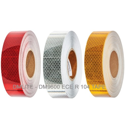 Reflective vehicle conspicuity tape