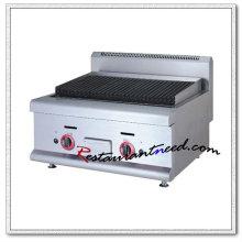 K021 Gril à gaz commercial de lave-vaisselle de lave-vaisselle en acier inoxydable