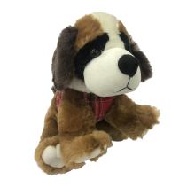 Plush Saint Bernard Animal Toy