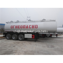 35000 Litros Petroleiro Fuel Tanker Semi Trailer