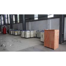 Generador de vapor eléctrico de 24kw 35kg / H para la máquina de la etiqueta de la manga del encogimiento