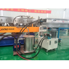 high capacity plastic recyling twin screw extruder