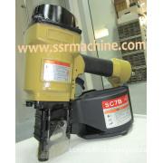 SC- 70B Wood Working Coil pneumatic Nailer Air Stapler carpenter tools