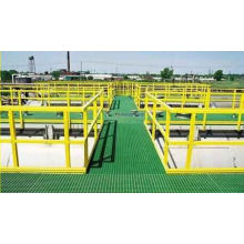 High Strength FRP/GRP Walkway/Platform, Fiberglass Grating