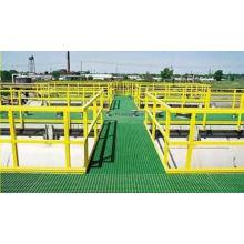 High Strength FRP/GRP Walkway/Platform, Fiberglass Grating