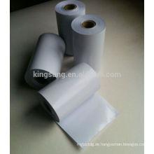 leerer Aufkleber in der Rolle, gedruckter leerer Aufkleber, leerer Aufkleber