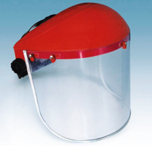 Top for Safety Face Shield PVC Face shield with ratchet suspension supply to Morocco Suppliers