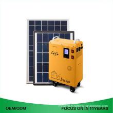 Mini générateur solaire portatif alimenté par énergie solaire de mini système solaire