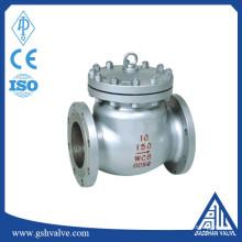 Válvula de retenção de balanço padrão ANSI 150lb