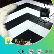 12.3mm E0 HDF AC4 en relieve de haya encerado piso laminado