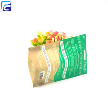 Custom printing Salt Stand Up Bag With Zipper