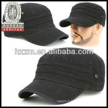 Blouson et chapeau militaire vintage de style affligé