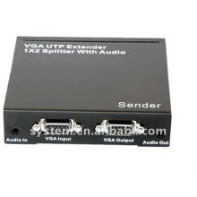 VGA UTP Extender 1x2 Splitter avec audio