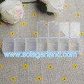 Clear Plastic Jewelry Storage Box With 7/12 Small Container