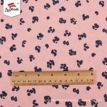 Luxury Shirt Printed Polyester Fabric Dress