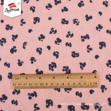 Robe de luxe en tissu polyester imprimé chemise