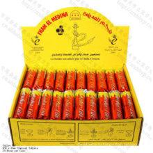 Высокое качество быстрая свет 33мм круглые Fham-Эль-Медина уголь для кальяна шиша