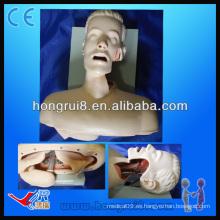 Medical Airway Entrenamiento de intubación, simulador de intubación de cavidad oral o nasal
