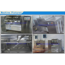Trough wet mixing machine