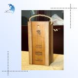 Hot sale custom design excellent engraved gift solid wood box