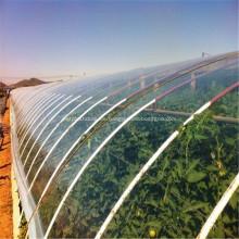 Multi-Span Plastikfilm, der helle Tomaten-Gewächshaus bedeckt