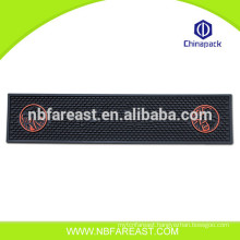 Factory directly provide portable jacquard Rubber Bar Drinking Mat