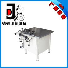 Impresora de pantalla de succión manual