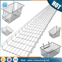 Bandeja de esterilización de cesta de malla de acero inoxidable 304 con tapa