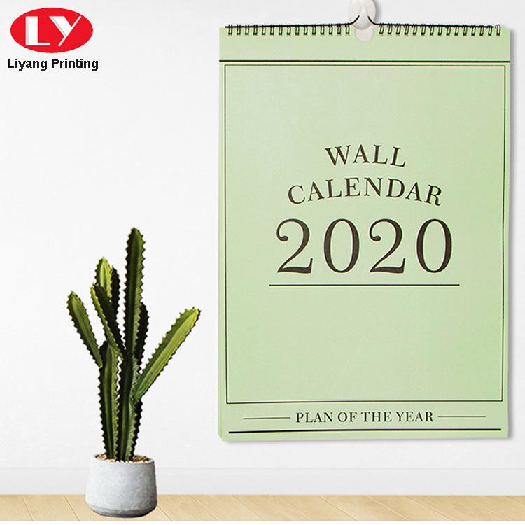 Green Wall Calendar