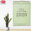 Custom Cute Wall Paper Calendar Printing