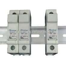 FS-033 RT18-32 Sem indicador LED Suporte de fusível automático em linha