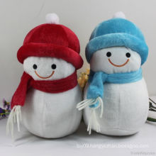 Plush Christmas Snowman Toy