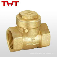 1 2 4 inch swing cw617n brass check valve / brass non return valve
