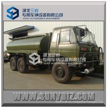 6X6 Ejército del desierto de carretera Todas las ruedas Tracción 6wd Refuel Camión Dongfeng 8000-16000L Camión cisterna de combustible