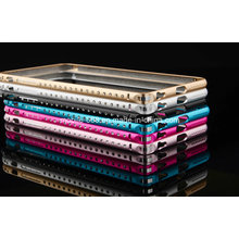 Top Quality Diamond Aluminum Metal Bumper for iPhone 6 Plus
