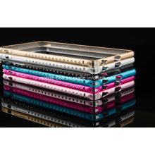 Высокое качество Алмаз Алюминиевый бампер металла для iPhone 6 плюс