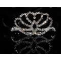 Bling Rhinestone Crystal Crown Tiara Comb Princess Crowns