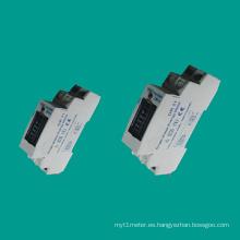 EDR11 Medidor de electricidad monofásico para carril DIN