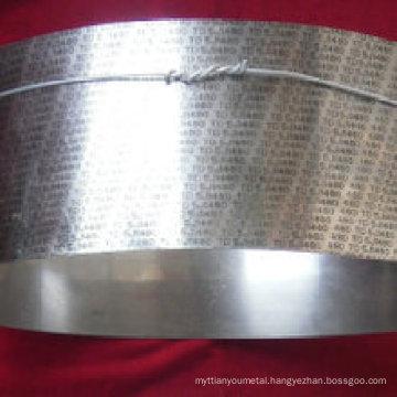 BS9 Thermal bimetal alloy strip
