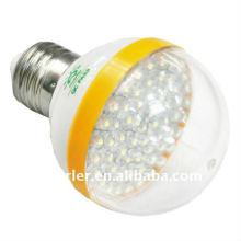 Transparent pc shell e27 3w led shop light fixtures
